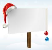 Un signe de Noël Images stock