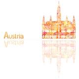 Un simbolo dell'Austria illustrazione vettoriale