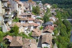 Un simbolo della Bulgaria: La città di Veliko Tarnovo Immagini Stock Libere da Diritti