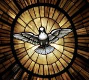 Un simbolo della colomba del pezzo dall'altare principale nel Vaticano Fotografie Stock Libere da Diritti