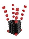 Un singolo whole_1 (concetto di constraction) Immagine Stock