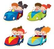 Un sistema de coches de parachoques libre illustration