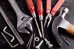 Herramientas de la mano Imagen de archivo libre de regalías
