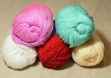 Un sistema de hilos de lana Imágenes de archivo libres de regalías