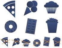 Junk Food 1 Fotos de archivo libres de regalías