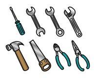 Iconos de la herramienta Foto de archivo libre de regalías