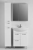 Un sistema de los muebles para el cuarto de baño Fotografía de archivo libre de regalías