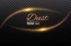 Un sistema de magia del relámpago y de efectos luminosos brillantes Ilustración del vector Corriente eléctrica de la descarga Cor ilustración del vector