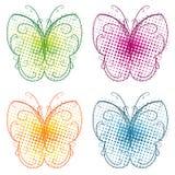 Flourish de la mariposa Imagenes de archivo