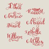 Un sistema de nombres caligráficos libre illustration