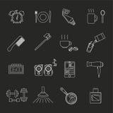Un sistema de objetos en la mañana Imagen de archivo libre de regalías