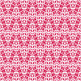 Un sistema de textura inconsútil rosada con los pequeños círculos Fotos de archivo