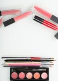 Un sistema del artista de maquillaje profesional Different Foto de archivo libre de regalías