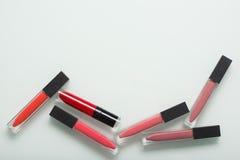 Un sistema del artista de maquillaje profesional Different Imagen de archivo