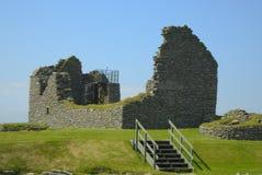 Un sitio de ruinas antiguas Fotografía de archivo libre de regalías