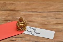 Un sobre rojo para el dinero en el Año Nuevo chino Imagen de archivo