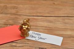 Un sobre rojo para el dinero en el Año Nuevo chino Foto de archivo
