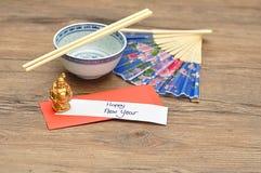 Un sobre rojo para el dinero en el Año Nuevo chino Imágenes de archivo libres de regalías