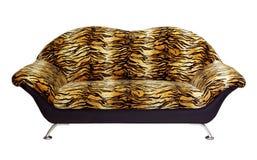 Un sofa d'isolement sur un fond blanc Photo libre de droits