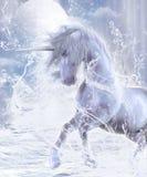 Un sogno dell'unicorno Fotografia Stock
