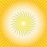 Salida del sol de centro de Sun Imagenes de archivo