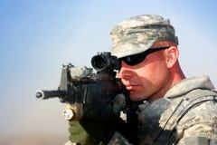 Un soldado Imagen de archivo libre de regalías
