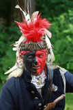 Un soldado aborigen Imágenes de archivo libres de regalías