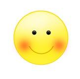Un soleil de sourire Image stock