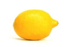 Un solo limón Imagen de archivo