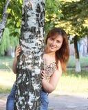 Un sourire de l'amour Images libres de droits