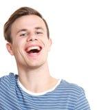 Un sourire de type images stock