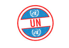 UN Stamp Royalty Free Stock Photography