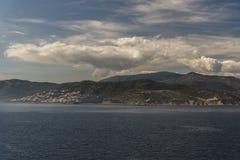 Un suburbio de Algeciras España de la reina Elizabeth imagen de archivo