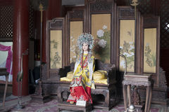 Un sueño de las figuras de cera rojas de las mansiones Fotos de archivo libres de regalías