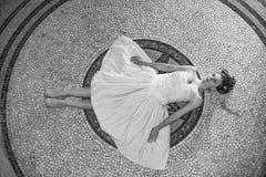 Un sueño sobre una mujer Foto de archivo libre de regalías