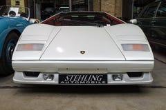 Un supercar mediados de-engined Lamborghini Countach LP 25to Anniversary, 1990 Imagen de archivo