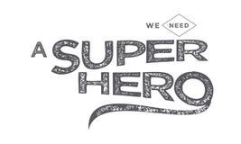 Un superhéroe Imagen de archivo libre de regalías
