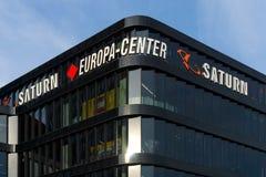 Un supermarché de l'électronique Saturn sur Kurfuerstendamm Photographie stock
