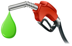 Un surtidor de gasolina stock de ilustración