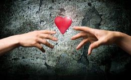 Un symbole de santé. Valentines de symbole. Photographie stock libre de droits