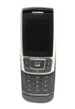 Un téléphone d'isolement de glissière Photographie stock