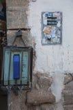 Un téléphone public Images stock