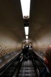 Un túnel al subterráneo de Nueva York imagen de archivo libre de regalías
