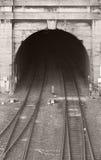 Un túnel ferroviario viejo Foto de archivo
