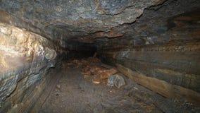 Un túnel subterráneo. Imágenes de archivo libres de regalías