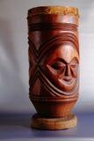 Un tambor africano tradicional Imagen de archivo