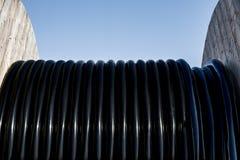 Un tambor de cable foto de archivo libre de regalías