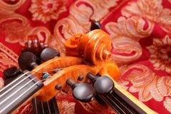 Un tango di tre violini Fotografie Stock Libere da Diritti