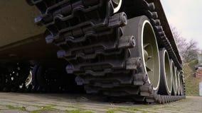 Un tanque militar potente metrajes