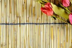 Un tapis de roseaux Image libre de droits